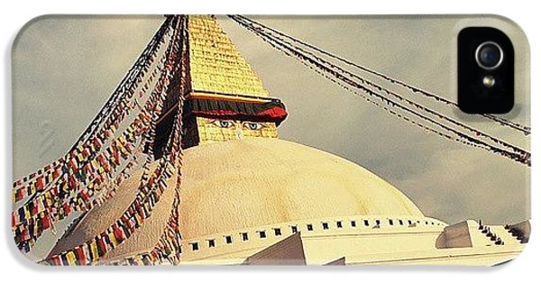 Golden Stupa IPhone 5 Case