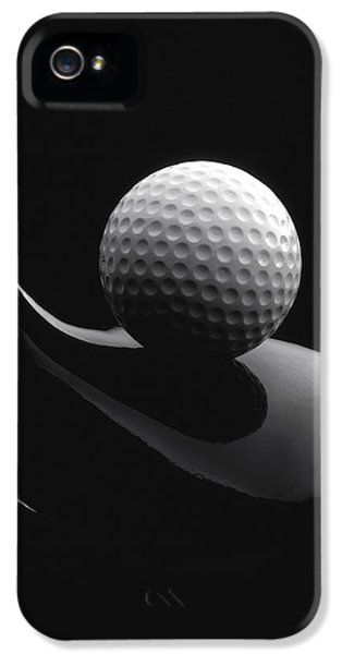 Golf iPhone 5 Case - Golf Ball And Club by John Wong