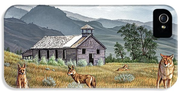 Gone To The Dogs IPhone 5 Case by Paul Krapf