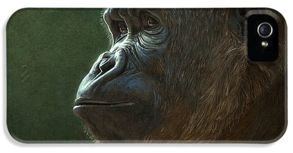 Gorilla IPhone 5 Case by Aaron Blaise