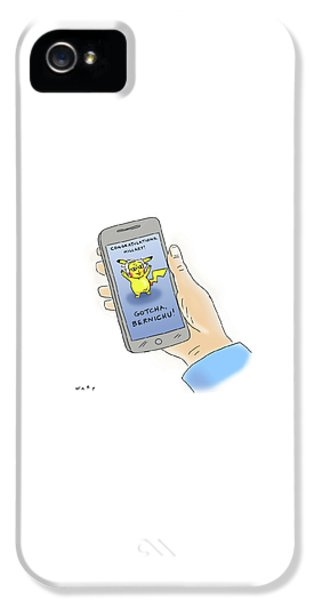 Hillary Clinton iPhone 5 Case - Gotcha Bernichu by Kim Warp
