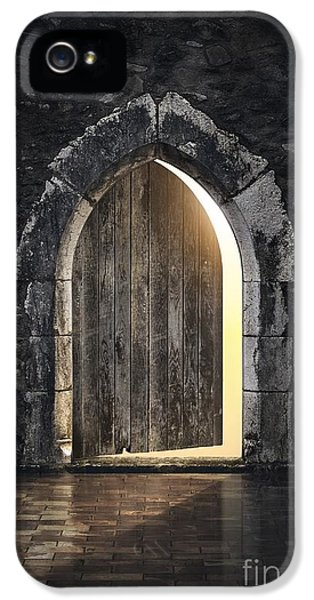 Dungeon iPhone 5 Case - Gothic Light by Carlos Caetano