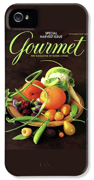 Gourmet Cover Featuring A Variety Of Fruit IPhone 5 Case by Romulo Yanes