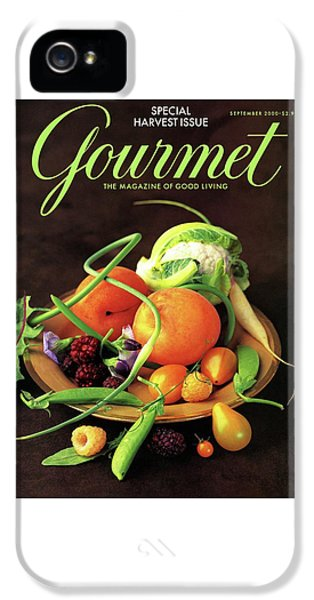 Gourmet Cover Featuring A Variety Of Fruit IPhone 5 Case