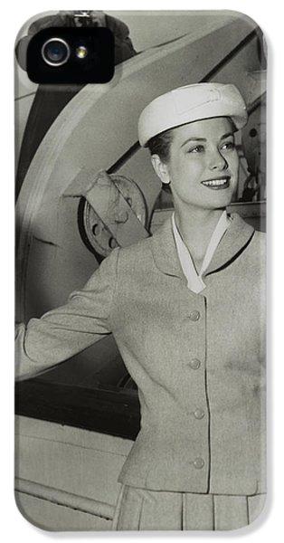 Grace Kelly In 1956 IPhone 5 / 5s Case by Mountain Dreams