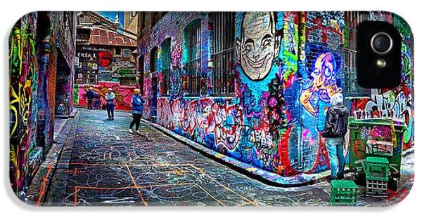 Graffiti Artist IPhone 5 Case by Az Jackson
