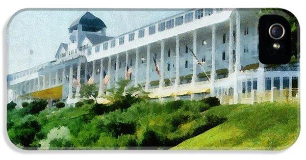 Grand Hotel Mackinac Island Ll IPhone 5 Case
