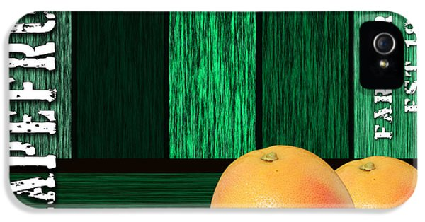 Grapefruit Sign IPhone 5 / 5s Case by Marvin Blaine
