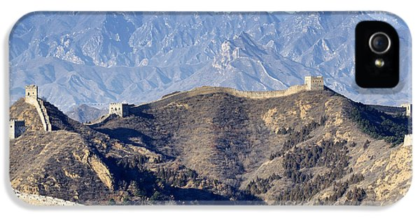 Great Wall - Northern China IPhone 5 Case by Brendan Reals