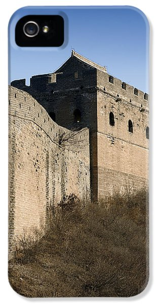 Great Wall Of China - Jinshanling -watchtower IPhone 5 Case by Brendan Reals