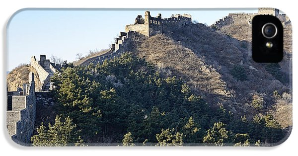 Great Wall Of China - Luanping China IPhone 5 Case by Brendan Reals