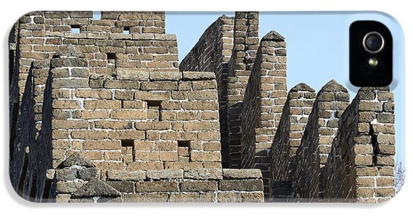 Great Wall Of China - Stairs IPhone 5 Case by Brendan Reals