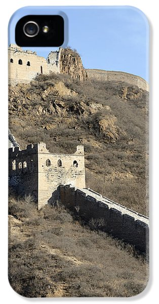 Great Wall Of China - Vertical IPhone 5 Case by Brendan Reals