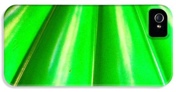 Green Abstract IPhone 5 Case