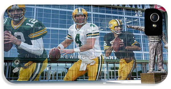 Green Bay Packers Lambeau Field IPhone 5 Case by Joe Hamilton