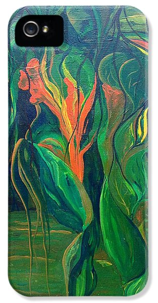 IPhone 5 Case featuring the painting . by James Lanigan Thompson MFA