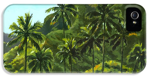 Greens Of Kahana IPhone 5 Case