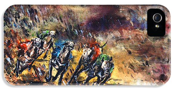 Greyhound Racing IPhone 5 Case