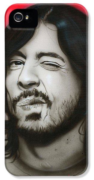 Dave Grohl - ' Grohl IIi ' IPhone 5 Case