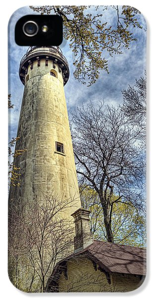 Grosse Point Lighthouse Color IPhone 5 Case by Scott Norris