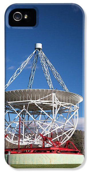 Grote Reber's Radio Telescope IPhone 5 Case by Jim West