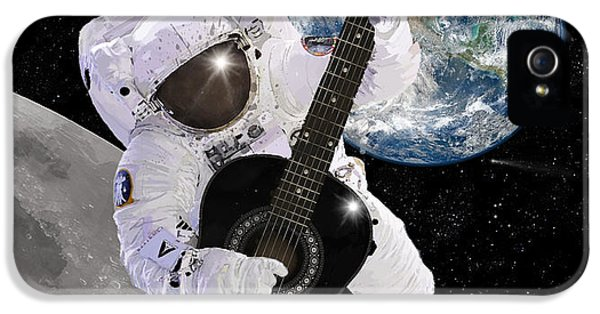Ground Control To Major Tom IPhone 5 Case by Nikki Marie Smith