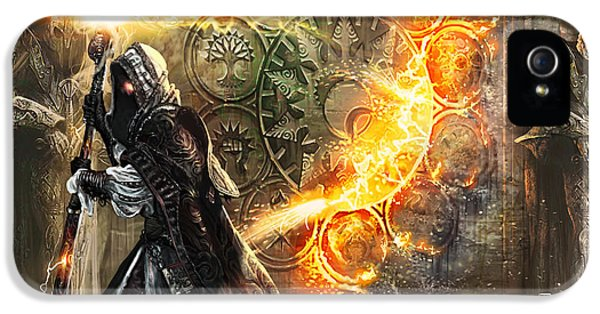 Wizard iPhone 5 Case - Guildscorn Ward by Ryan Barger