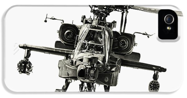 Helicopter iPhone 5 Case - Gunship by Murray Jones