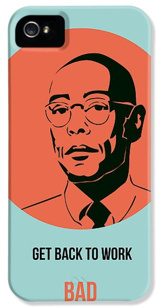 Gustavo Fring Poster 1 IPhone 5 Case by Naxart Studio
