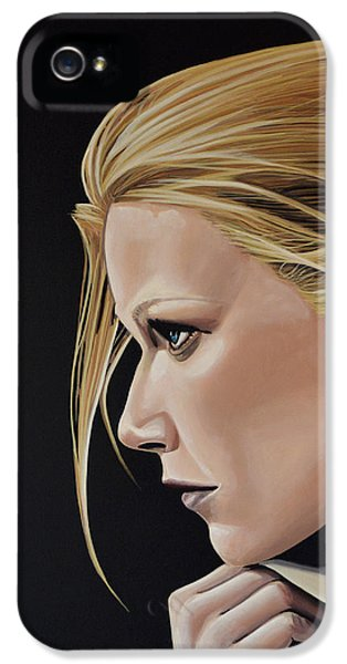Gwyneth Paltrow Painting IPhone 5 Case