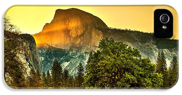 Half Dome Sunrise IPhone 5 / 5s Case by Az Jackson