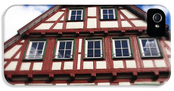 House iPhone 5 Case - Half-timbered House 05 by Matthias Hauser