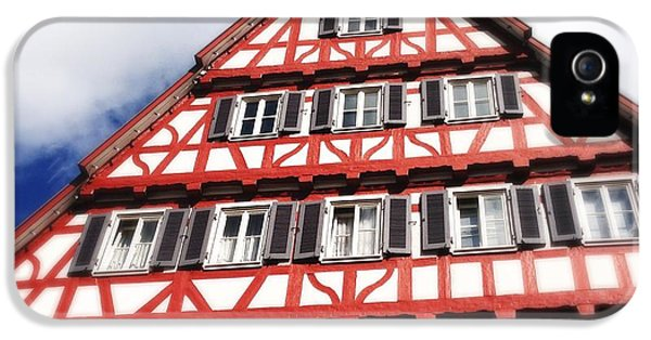 House iPhone 5 Case - Half-timbered House 06 by Matthias Hauser