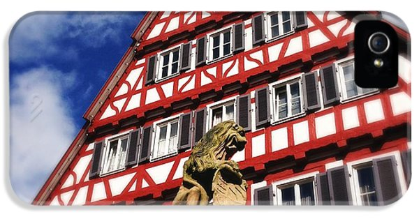 House iPhone 5 Case - Half-timbered House 07 by Matthias Hauser