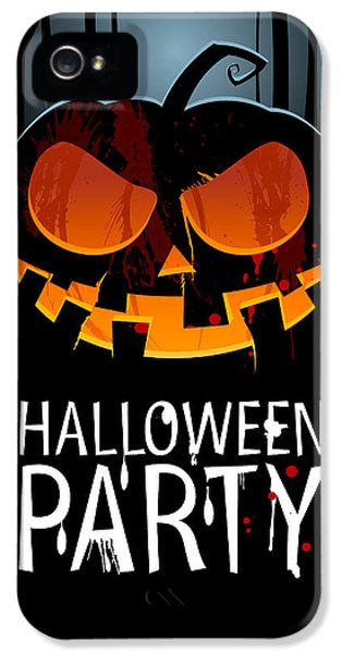 Halloween Party IPhone 5 Case by Gianfranco Weiss