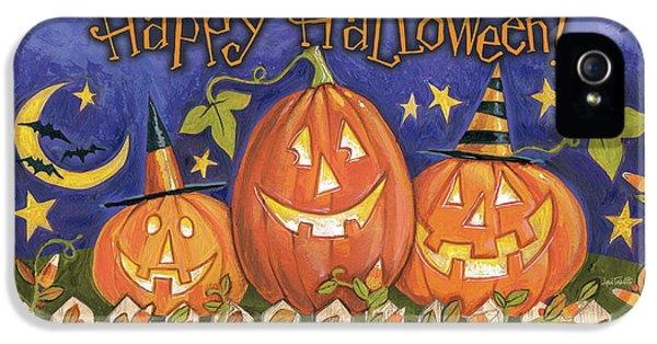 Halloween Wishes I IPhone 5 Case by Anne Tavoletti