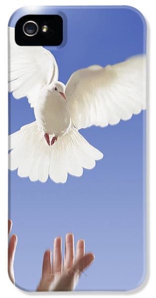 Hands Releasing White Dovevancouver IPhone 5 Case by Thomas Kitchin & Victoria Hurst