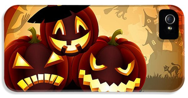 Happy Halloween IPhone 5 Case by Gianfranco Weiss