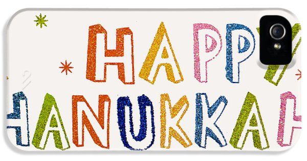 Happy Hanukkah 2013 IPhone 5 Case by Tikvah's Hope