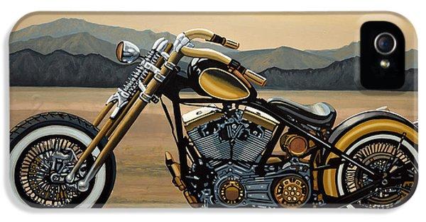 Harley Davidson IPhone 5 Case by Paul Meijering