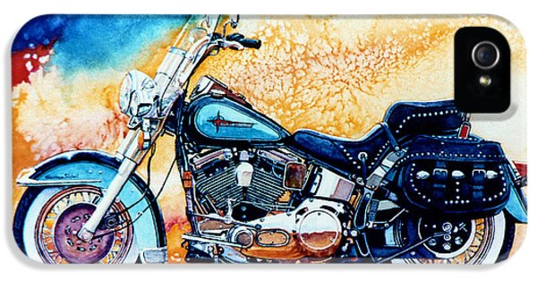 Harley Hog I IPhone 5 Case by Hanne Lore Koehler