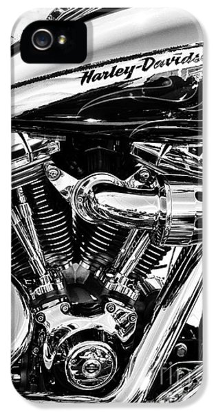 Harley Monochrome IPhone 5 Case by Tim Gainey