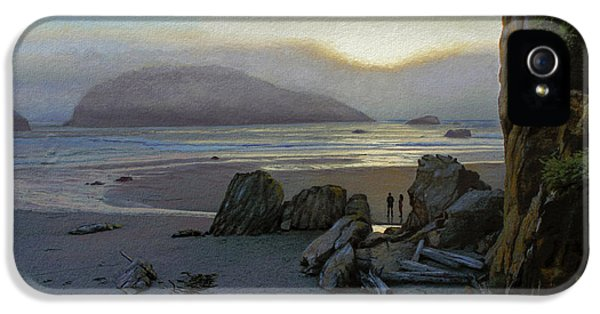Harris Beach Rendezvous IPhone 5 Case by Paul Krapf