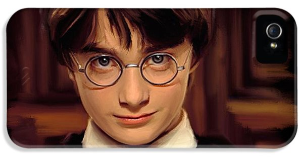 Wizard iPhone 5 Case - Harry Potter by Paul Tagliamonte