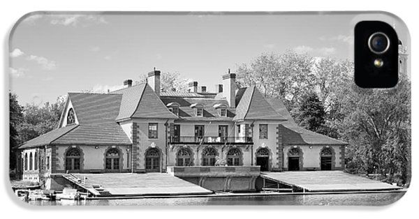 Weld Boat House At Harvard University IPhone 5 Case by University Icons