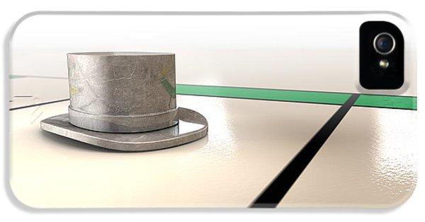 Hat Monopoly IPhone 5 Case by Allan Swart