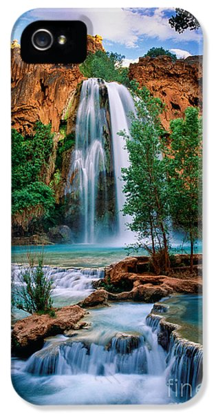 Havasu Cascades IPhone 5 Case by Inge Johnsson