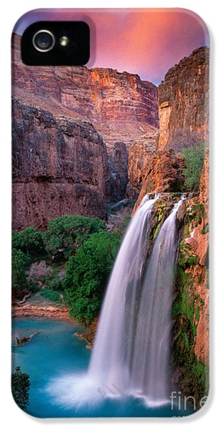 Havasu Falls IPhone 5 Case by Inge Johnsson