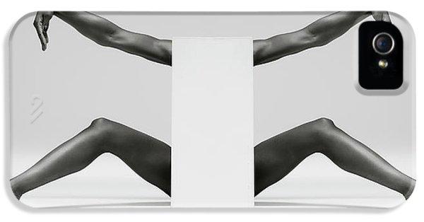 Crane iPhone 5 Case - Headless Symmetry by Ross Oscar