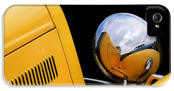 Headlight Reflections In A 32 Ford Deuce Coupe IPhone 5 Case